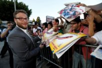 Seth Rogen fools shoppers with talking food