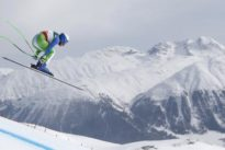 Slovenia`s Stuhec wins Alpine skiing women`s downhill gold