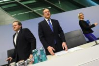 ECB says no longer sees deflation risk in euro zone