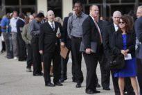 U.S. job growth rises briskly, wages continue to climb
