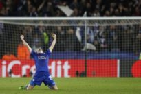 Soccer: Revitalized Leicester stun Sevilla to reach quarter-finals
