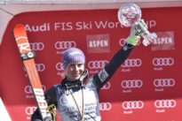 Alpine skiing: Worley wins her first globe, Myhrer wins men`s slalom