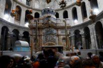 Restoration work completed on Jesus tomb site in Jerusalem