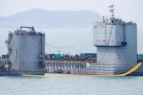 South Koreans could raise sunken ferry if test of lift goes well