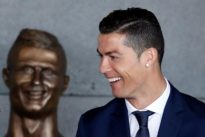`Hideous` Cristiano Ronaldo statue sparks social media laughs