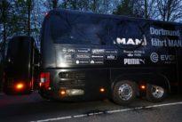 Blasts hit Borussia Dortmund soccer team`s bus, leaving player hurt