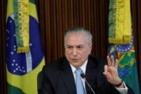 Brazil`s Temer calls $40 million Odebrecht bribe accusation `a lie`