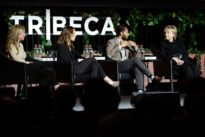 Hillary Clinton makes surprise appearance at New York film panel