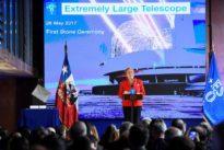 Construction begins on world`s largest telescope in Chilean desert