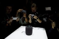 Apple debuts HomePod speaker to bring Siri into the living room