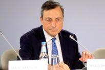 Euro zone yields drop as ECB shuns taper talk