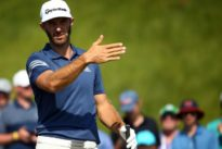 Golf – Johnson arrives for U.S. Open after birth of child