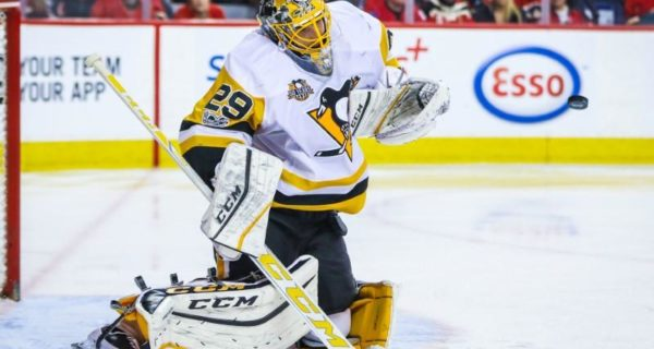 Penguins` Fleury left available for Vegas expansion draft