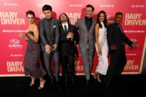 Stars come out for European premiere of Edgar Wright`s `Baby Driver`