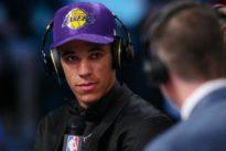 Lakers great Magic Johnson picks successor in Lonzo Ball