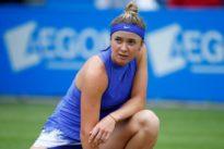 Svitolina suffers injury scare ahead of Wimbledon