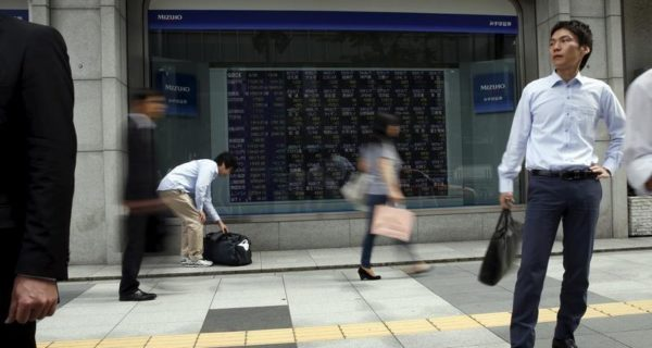 Asia stocks edge up on optimism over global growth, dollar soft