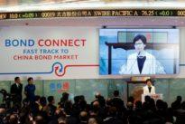 Brisk trade mark launch of China, Hong Kong bond connect scheme