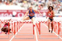 Any color medal will do, says hopeful hurdler Pearson