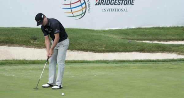 Zach Johnson, Pieters share lead at Firestone