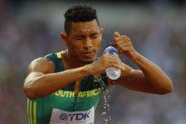 Van Niekerk forced to work his way to tantalizing 400m final
