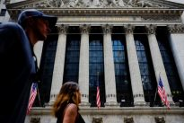 Wall Street rises on Fed bets but North Korea mutes gains