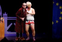 Boris in Union Jack underpants? Musical comedy finds the fun in Brexit