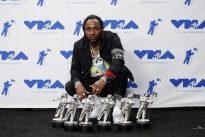 Kendrick Lamar wins big, but absent Taylor Swift steals VMA show