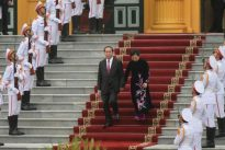 Vietnam president appears in public for first time in more than a month