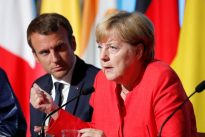 Merkel, Macron eye deeper eurozone integration after German election