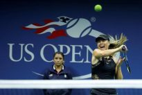 Sharapova looks to back up big win in battle with Babos