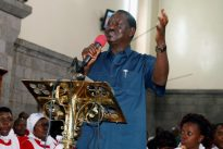 Kenya`s Odinga rejects election re-run date without `guarantees`