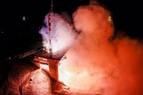 U.S., Russian crew transfer to space station after Soyuz flight