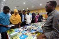 Somali book fair offers respite from bombs