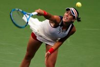 Muguruza exits on day of upsets at China Open