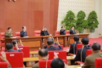 Kim Jong Un praises nuclear program, promotes sister
