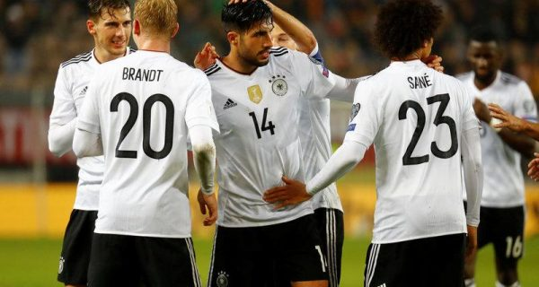 Soccer: Germany`s perfect 10 completed with win over Azerbaijan