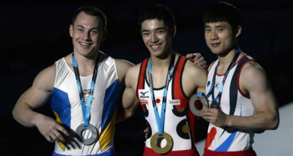 Gymnastics: Japan`s Shirai uses narrow win for second gold in Montreal