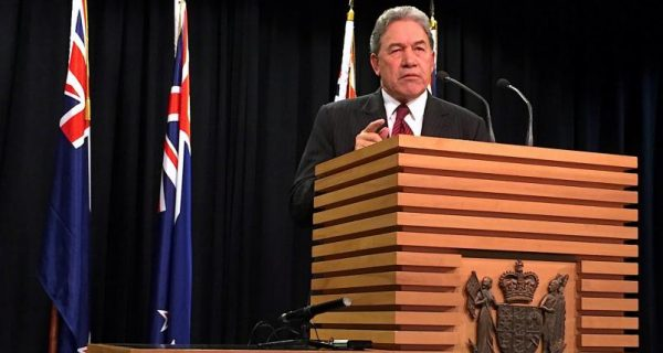 NZ First leader says foreign ownership to be part of coalition wrangling