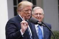 Trump declares Obamacare `dead,` urges Democratic help for short-term fix