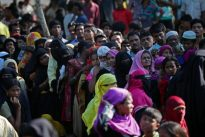 Bangladesh says Rohingya outflow `untenable`, seeks solution