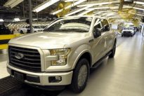 Wall Street loves electric cars, America loves trucks
