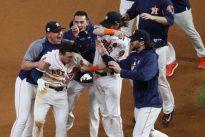 Astros win thriller, on brink of World Series crown