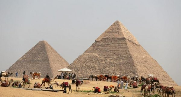 Cosmic-ray imaging finds hidden structure in Egypt`s Great Pyramid