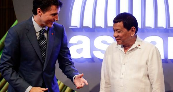 Canada`s Trudeau raises rights issues as Asia summit winds down