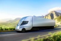 J.B. Hunt, Wal-Mart climb aboard Tesla's electric truck