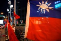 China, Taiwan spar over Chinese diplomat's invasion threat