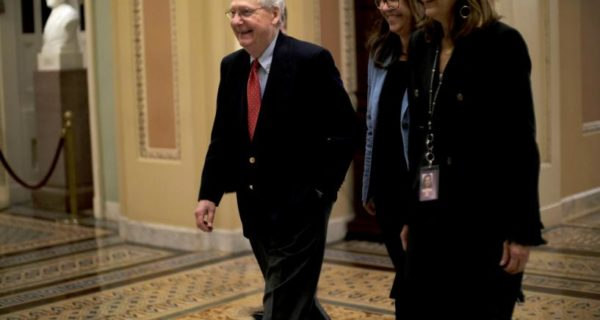 McConnell optimistic of tax bill deal between Senate and House