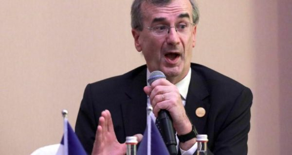 Bank of France's Villeroy: See no Europe-wide bubbles, but local bubbles possible