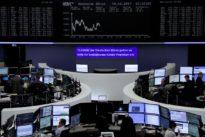 Global shares limp toward third week of gains, Bitcoin roars to new hi
